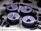HECATE Amethyst Coco Apricot Crème Luxury Wax Artisan Tealight Candles