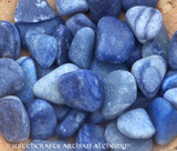 BLUE ADVENTURINE Tumbled Gemstones