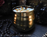 POT OF GOLD Coco Apricot Crème Luxury Wax Golden Ceramic Container Candle