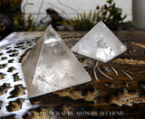 Quartz Crystal Pyramid