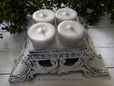 """EARTH MOTHER GODDESS """"Simply Elegant"""" Soy Paraffin Wax Blend Artisan Tealight Candles"""
