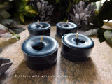 OTHERWORLD PORTAL Obsidian Charged Soy Paraffin Wax Blend Mystic Blue Artisan Tealight Candles