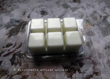 MOONFLOWER Highly Scented White Artisan Soy Paraffin Wax Blend Clamshell Melts