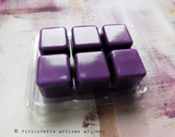 MATERIA MAGICA Magical Mastery Highly Scented Amethyst Purple Artisan Soy Paraffin Wax Blend Clamshell Melts