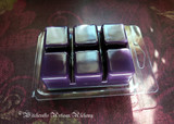 BLACKBERRY BRAMBLE Highly Scented Dark Purple Artisan Soy Paraffin Wax Blend Clamshell Melts