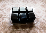 CYPRESS CEDARWOOD Highly Scented Black Artisan Soy Paraffin Wax Blend Clamshell Melts