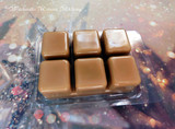 MULLED CIDER Highly Scented Golden Brown Artisan Soy Paraffin Wax Blend Clamshell Melts