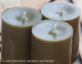 Pure BAYBERRY Wax Pillar Votive Candles