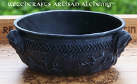 Nemesis Now Maiden Mother Crone Black Resin Cast Scrying Bowl