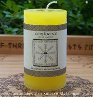 CONFIDENCE Signature Spell Candle by Witchcrafts Artisan Alchemy