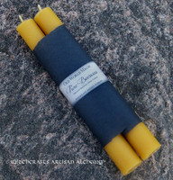 ORGANIC BEESWAX Handcrafted Old World Stick Candles