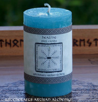 HEALING Signature Spell Candle by Witchcrafts Artisan Alchemy