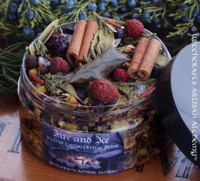 FIRE AND ICE Yuletide Cauldron Casting Blend and Bonfire Throw