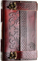 CELTIC SPIRIT Leather Blank Journal