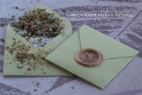 "LIVE LUCKY ""Spirit of Magic"" Herb Loaded Envelope Spell Packet"