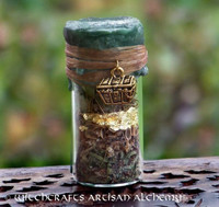 GREENFINGERS Chest of Gold Charmed Witch Bottle