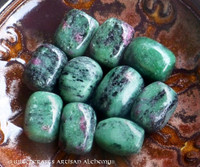 ANYOLITE Ruby Zoisite Tumbled Gemstone