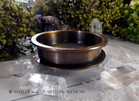 ALCHEMIST Tibetan Bronze Incense Burner Bowl