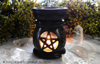 Black Pentagram Oil Diffuser