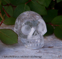 Quartz Crystal Skull 1.5""