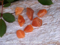 "FIRE OPAL ""Stone of Magical Power"" Rare Tumbled Gemstone"