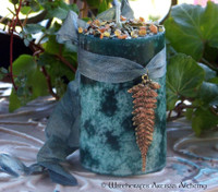 "BALSAM CEDAR AMBER ""Old European Witchcraft"" Pillar Candle"
