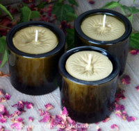 "TRUE BAYBERRY Wax ""Vintage Green"" Glass Jar Candle"
