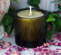 "TRUE BAYBERRY Wax Blend ""Vintage Green"" Glass Jar Candle"