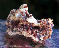 Vanadinite Crystal Cluster (Morocco) 76mm