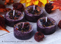 BLACKBERRY CLOVE Artisan Tealight Candles