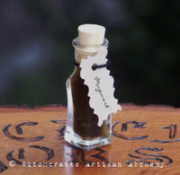 MUGWORT Artisan Alchemist Essential & Infused Herb Ritual Oil in Rare Mini Vial