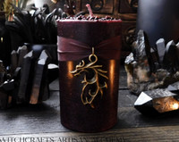 DRAGON'S BLOOD LUXE Dragon Charmed Pillar Candle