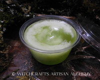 """SAGE & SWEETGRASS """"Good Spirits"""" Highly Scented Soft Light Green Wax Scent Shot"""