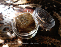 BLACKBERRY FRANKINCENSE Signature Artisan Amber Incense Crystallized Resin Perfume, 5 Grams