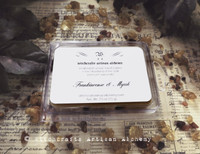 FRANKINCENSE & MYRRH Highly Scented Artisan Beige Brown Soy Paraffin Wax Blend Clamshell Melts