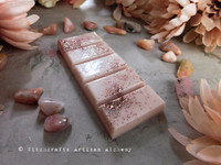FRENCH ROSE Highly Scented Soft Dusty Blush Pink Snap Bar Wax Melts