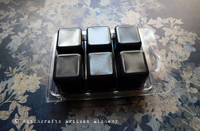 DRUANTIA High Druidess Highly Scented Black Artisan Soy Paraffin Wax Blend Clamshell Melts