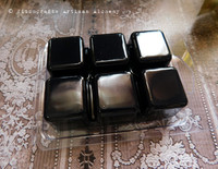 """SALEM 1692 """"Witchcraft"""" Black Highly Scented Artisan Soy Paraffin Wax Blend Clamshell Melts"""