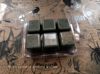 """WOOL OF BAT """"Witchcraft"""" Grayish Brownish Greenish Highly Scented Artisan Soy Paraffin Wax Blend Clamshell Melts"""