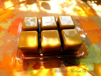 HARVEST GOLD Highly Scented Golden Autumn Artisan Soy Paraffin Wax Blend Clamshell Melts