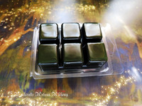 MAGICAL FOREST Highly Scented Mossy Green Artisan Soy Paraffin Wax Blend Clamshell Melts