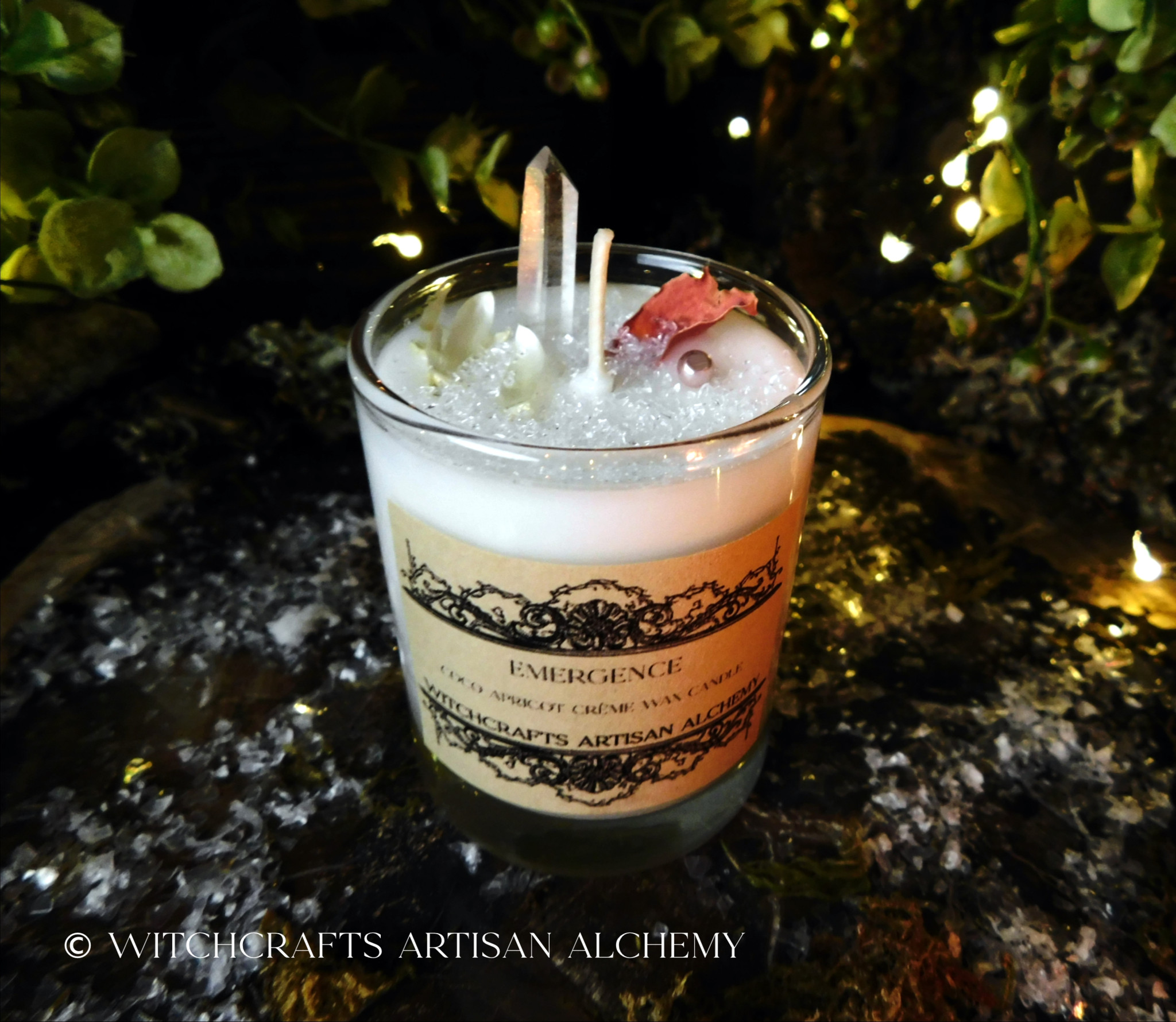 Clear Glass Petite Candles