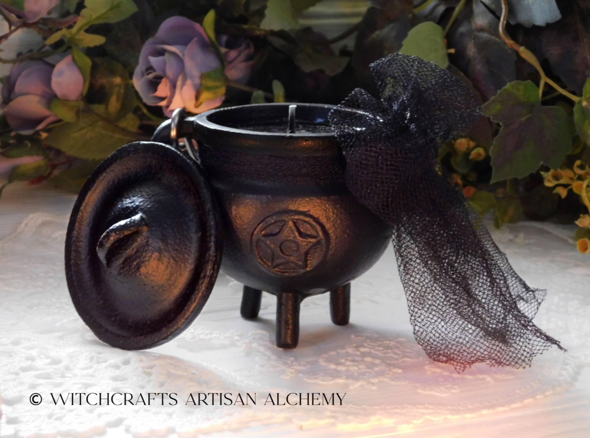 Cauldron Candles