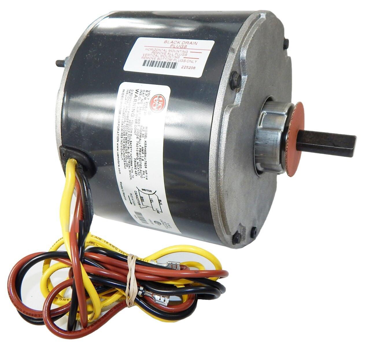York Source One 3//4 HP STD ECM Blower Motor 1050 RPM to 1400 RPM 208-230 V max