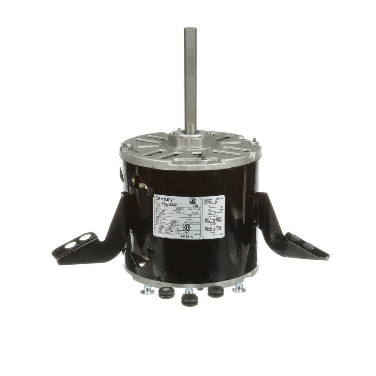 Dayton 1//6 HP Direct Drive Blower Motor 277 Volts