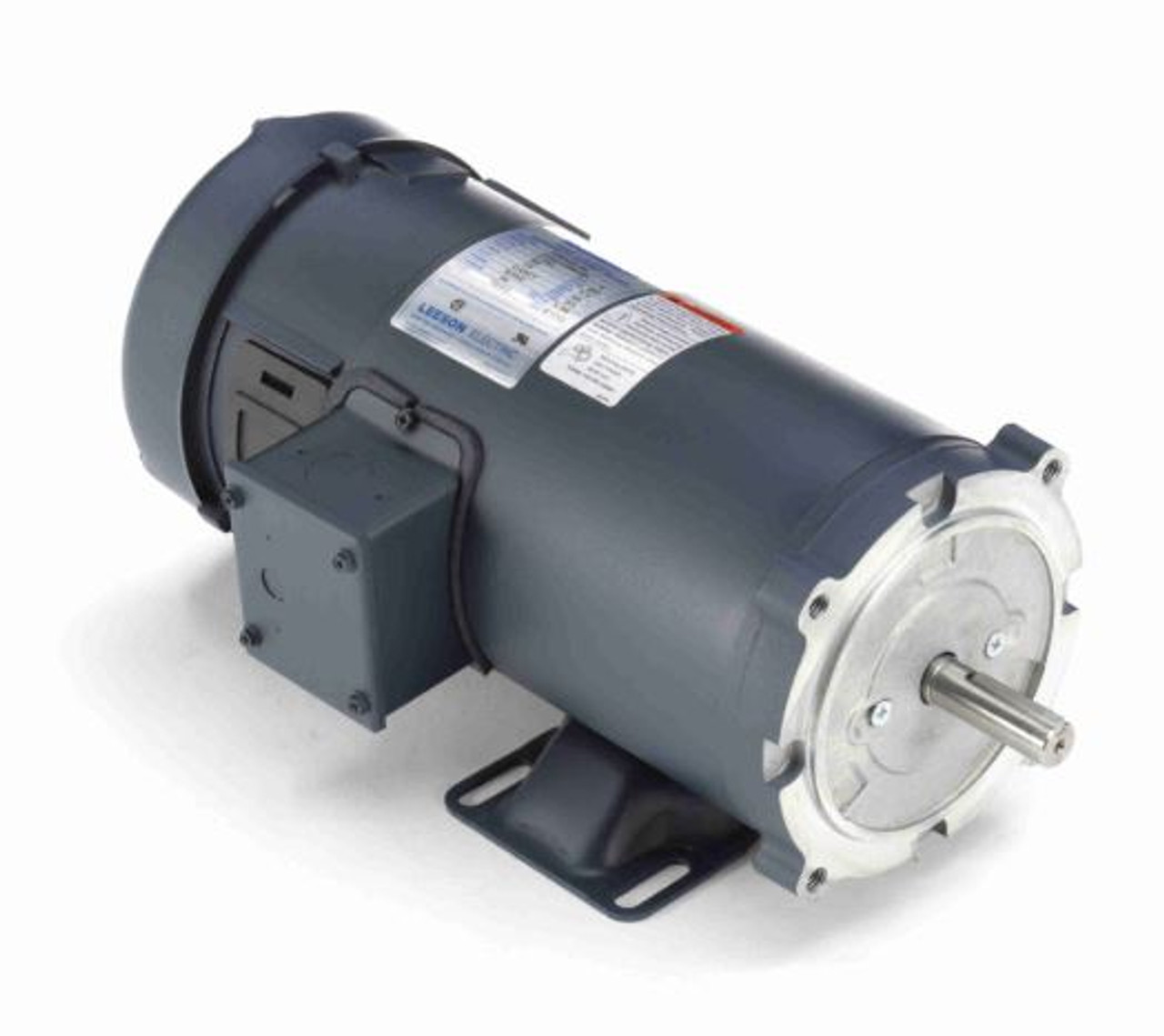 1 hp 1800 RPM 90 Volts DC 56C Frame TEFC Leeson Electric ...