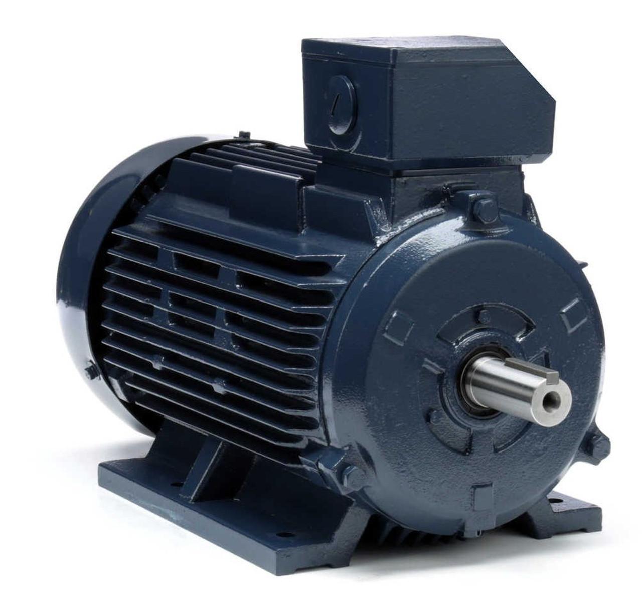 3 Hp 2 2 Kw 1800 Rpm 100l Frame 230  460v Marathon Electric