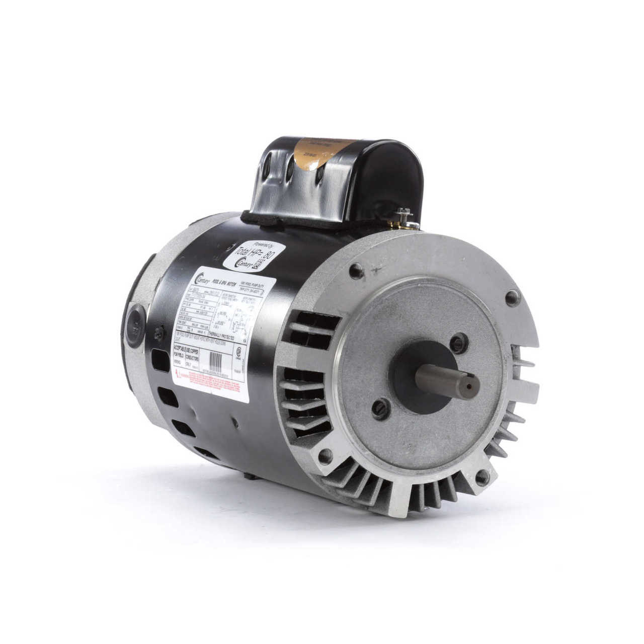 1 HP 2-Speed 56J Frame 230V; 2 Speed Swimming Pool Motor Century # B2975
