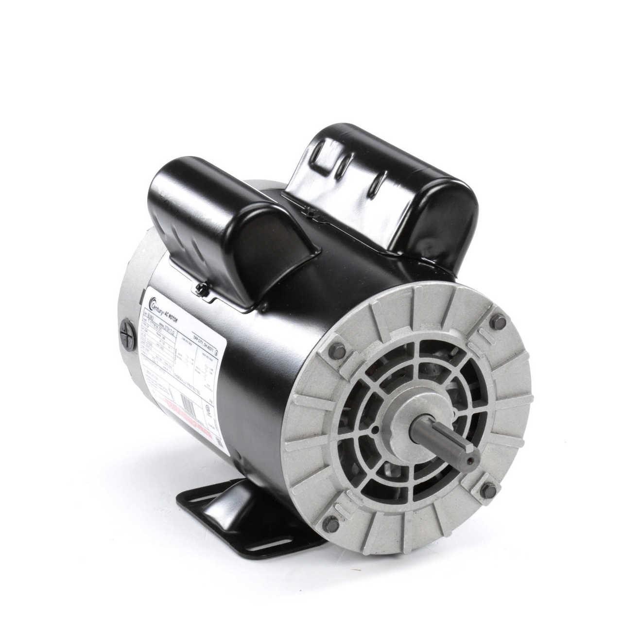 Century Motor # B385 5HP SPL LEESON 56 Frame ELECTRIC MOTOR Replaces Air Compressor Motor