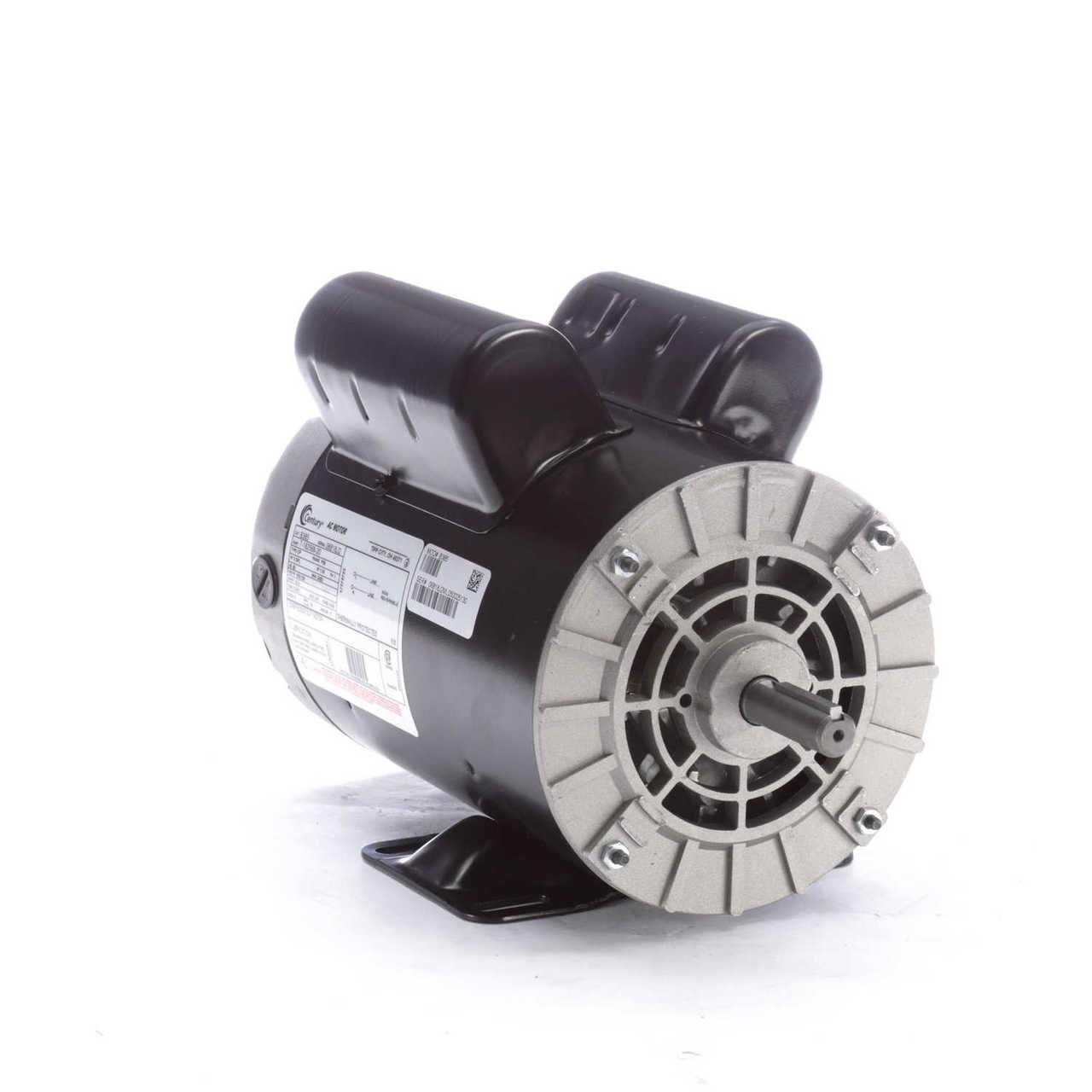 5 Hp Spl 3450 Rpm P56 Frame 230v Air Compressor Motor